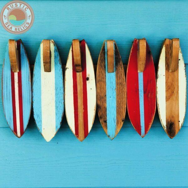 6 Surfboard Towel Rack