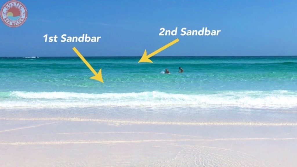 second sandbar destin florida beach