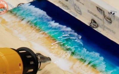 Ocean Wall Art Tutorial – DIY Resin Ocean Waves