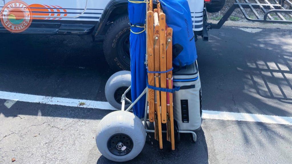 beach essentials beach cart