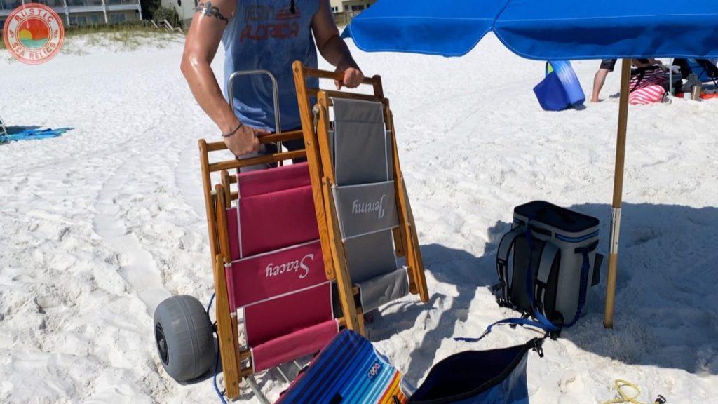 wood beach chairs