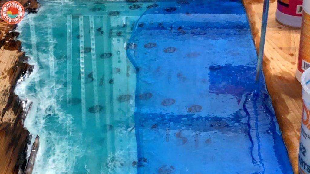 large resin ocean art