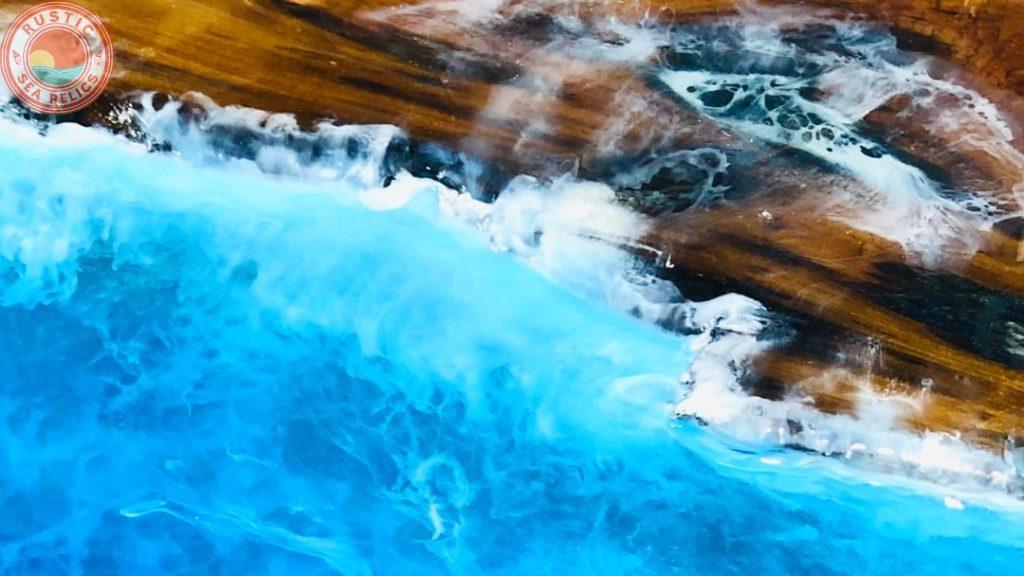resin ocean waves
