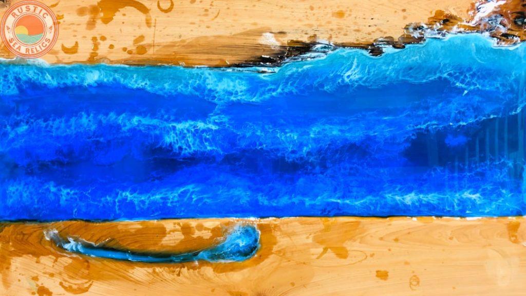 ocean waves art